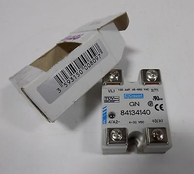 Crouzet 100A 48-660Vac Solid State Relay Gn 84134140 Nib