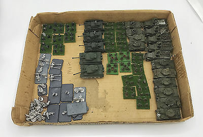 Flames of War / Battleground Large Lot #1 with Tanks, Figures, Buildings & More