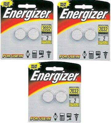 20X Lot of NEW Energizer 2032 Lithium 3V Battery Pack