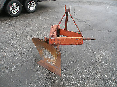 Howse 16  Inch  3 Point Hitch Single Bottom  Plow