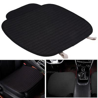 PU Leather Cotton Car Front Seat Protect Mat Cover Pad Breathable Chair Cushion