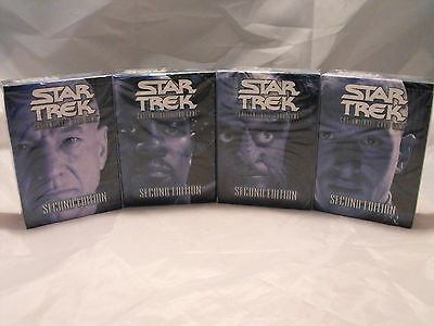 Star Trek Ccg 2E, Second Edition Lot Of All 4 Starter Decks