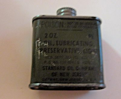 Vintage Standard Oil Vietnam War Oil Advertising Oil Can ~ See All Our Oil Cans