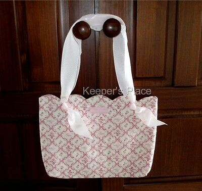 Longaberger Horizon Of Hope Tote Bag Breast Cancer Awareness Ribbon New