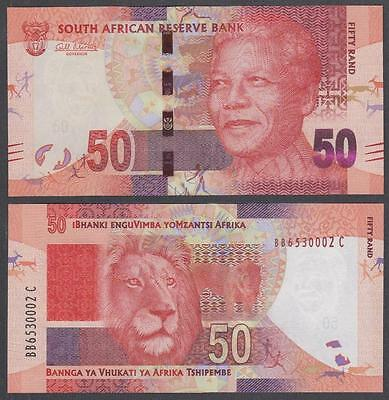ND South African Reserve Bank 50 Rand (CU)