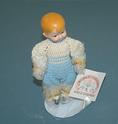 Patricia Loveless Miniature Porcelain Buster Antique Reproduction Heubach COA