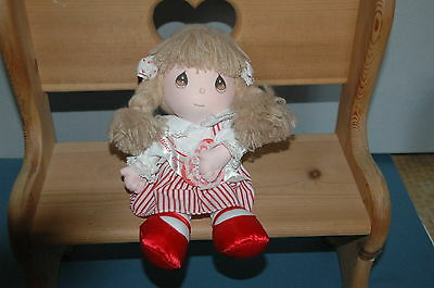 "Precious Moments 10"" 1990-91 Valentines Day Edition Doll Julia By Applause 3 +"