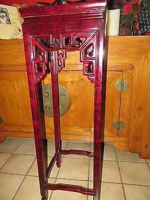 Gorgeous Chinese rosewood display stand