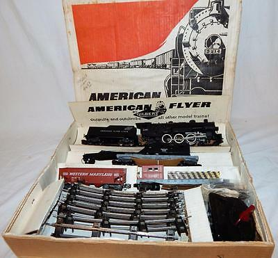 ORIGINAL 1958 American Flyer 20420 The Mountaineer Boxed Set w/ 21085 24219 CNW
