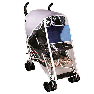 Newly Stroller Rain Cover Baby Pushchair Carriage Clear Protector Weather Shield