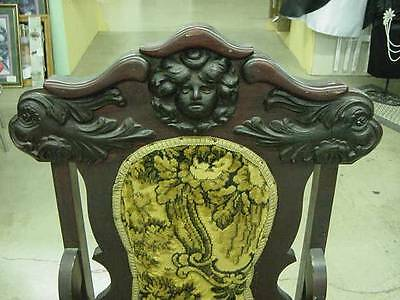 Antique Ornate Victorian Chair