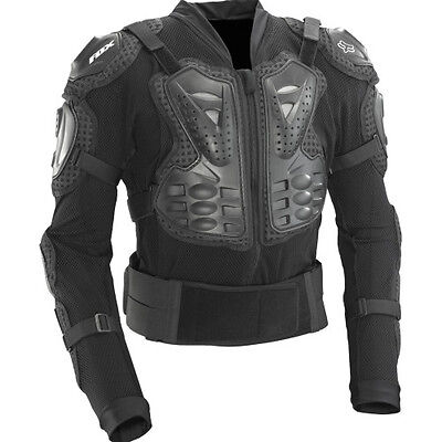 Fox Mtb Titan Sport Mens Body Armour Torso - Black All Sizes