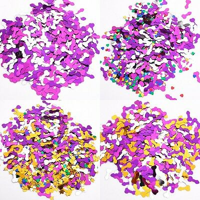 Funny Confetti Hens Night Party Games Willy Bachelorette Girls Night Decoration
