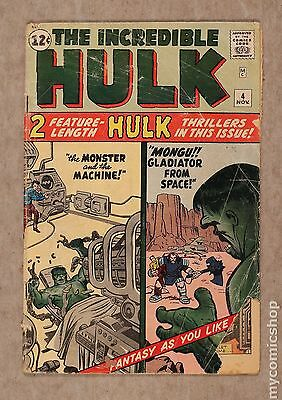 Incredible Hulk (1962-1999 1st Series) #4 FR 1.0