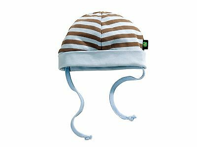 John Deere Babies Hat - Available in White or Striped Age Newborn-24 Months