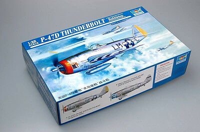 TRUMPETER® 02263 P-47D Thunderbolt Bubbletop in 1:32