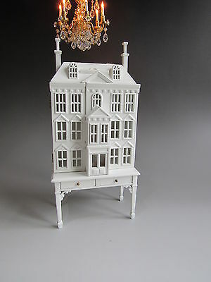 1:12th Scale ~ White  Detailed Miniature Dolls House for Dolls House Nursery