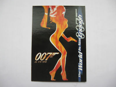James Bond Inkworks The World Is Not Enough Promo Card P1