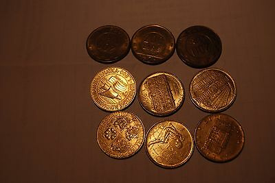Italy All Different 200 Lire Coins