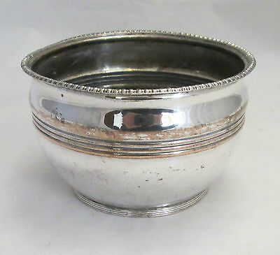 A Small Old Sheffield Plated Dish / Pot - c1800