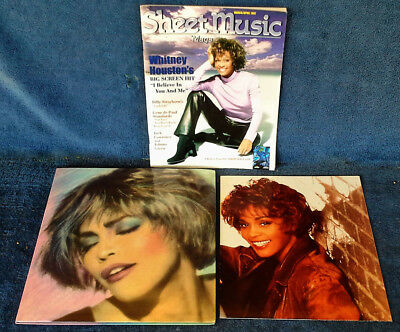 Whitney Houston - I'm Your Baby Tonight - World Tour - Program & Poster - 1991