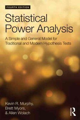 Statistical Power Analysis A Simple and General Model for Tradi... 9781848725881