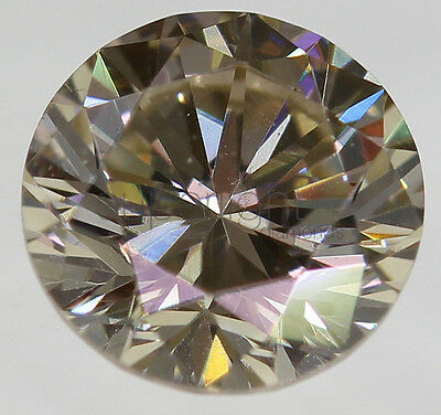 diamante naturale fancy brown 0.37 ct. certificato IGL con incisione laser VVS2