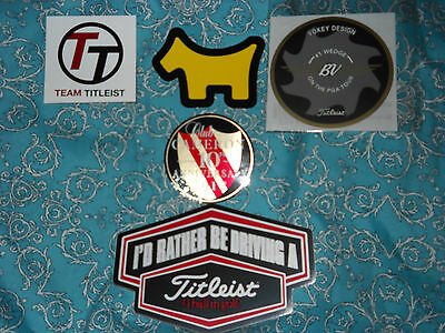 New Scotty Cameron,titleist+Vokey Stickers Collection Excellent Fathers Day Gift