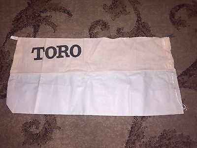 Very Rare Find Antique / Vintage Toro Whirlwind Grass catcher bag N.O.S. :