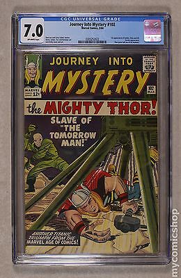 Thor (1962-1996 1st Series Journey Into Mystery) #102 CGC 7.0 0305252022