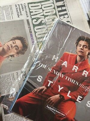 Harry Styles The Times UK  Newspaper 14 May 17