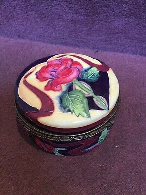 Old Tipton Ware Large Lidded Trinket Box By Jeanne Mc Dougall