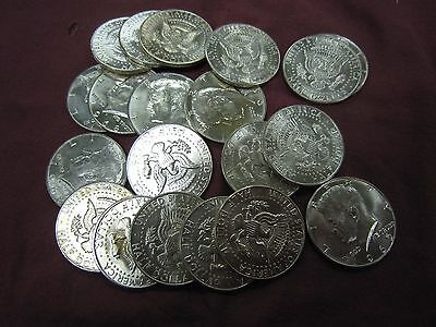 Nice!! Roll Of 20 40% Silver Kennedy Half Dollars  - $10 Face - Free Shipping!!
