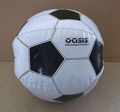OASIS Stop Crying Your Heart Out UK promo only inflatable football beach ball