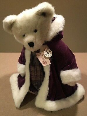 """Boyds Bears Victoria L. Plumbeary 15"""" TJ's Best Dressed with Tags Excellent!!"""