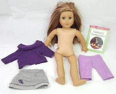 American Girl Doll Mckenna Doll Of The Year Book & Outfit Pleasant Company Lot