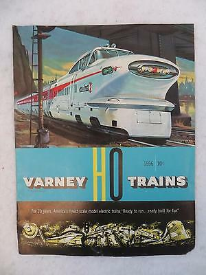 Vintage 1956 VARNEY HO TRAINS Catalog Trains and Accessories