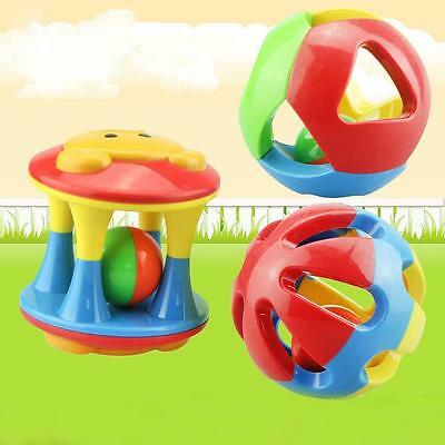 New Cute Handbells Musical Developmental Toys Bed Bells Kids Baby Toys Rattle BC