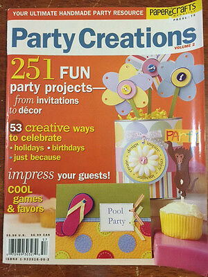 Papercrafts Magazine: Party Creations Volume 2 *BRAND NEW*