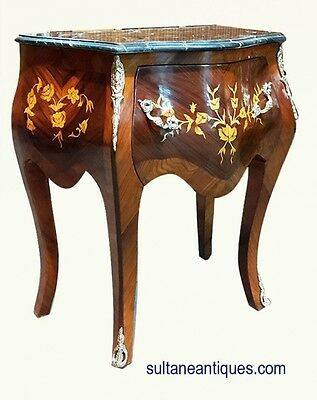 In 3 weeks commode SIDE TABLE marble top Louis style