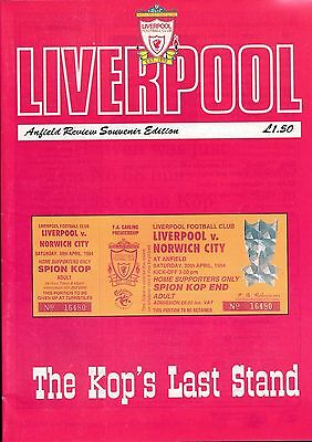 LIVERPOOL v Norwich 1994 - Last game in front of a standing Kop!