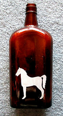 White Horse Puroform Amber Bleach Bottle Crescent Products Winnipeg wolc