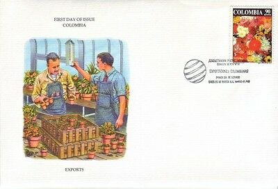 Colombia - Special Events, Views, & Anniversaries (3no. FDC's) 1976-92