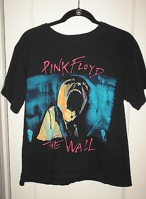 Pink Floyd The Wall Vintage T-Shirt 100% Cotton Size Medium