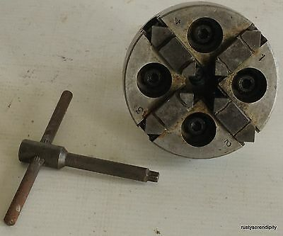 4 Jaw Chuck for 10mm PULTRA WATCHMAKERS LATHE • £100.00