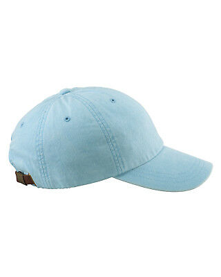 NEW Adams Cap Baseball Hat 6-Panel Low-Profile Washed Pigment-Dyed AD969
