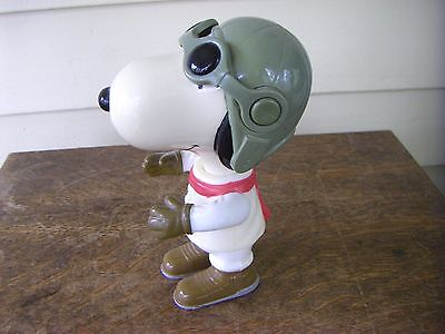 Peanuts Snoopy WWII Flying Ace Plastic Figurine
