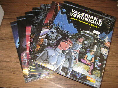 Valerian & Veronique - Mezieres, Christin 1-7 - Hardcover NEU