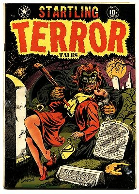 Startling Terror Tales #10-First issue-Repulsive Dwarf by Wally Wood-L.B. Cole