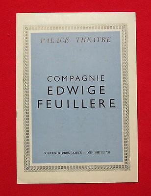 Palace Theatre Phedre starring Edwige Feuillere London England msc3